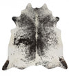 Premium Cowhide - Natural Salt & Pepper Black