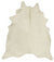 Premium Cowhide - Natural White