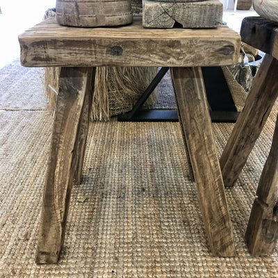 Reclaimed Teak Side Table Coffee Table