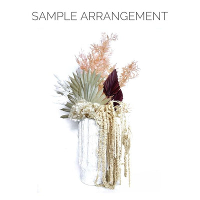Preserved Amaranthus - White Bunch