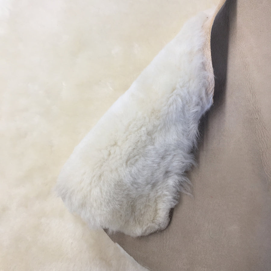 Shorn Sheepskin Fur Lambskin Liner