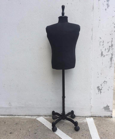 Vintage Style Dressmaker's Dummy/Mannequin on Casters ***HIRE ONLY***