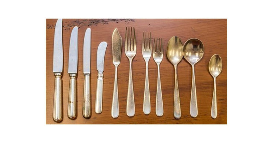 Plain Pattern Cutlery 225 Pieces ***HIRE ONLY***