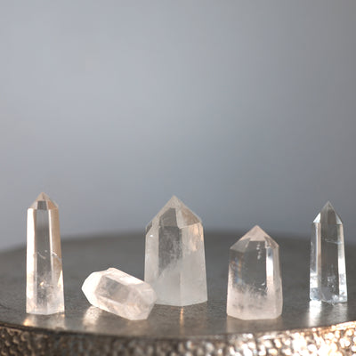 Clear Quartz Crystals Points **HIRE ONLY***