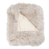 Real Tibetan Fur Mongolian Lambskin Sheepskin Throw Rug Blanket ***6 COLOURS***