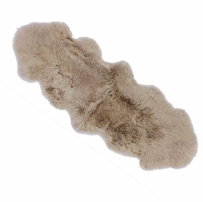 Long Wool Sheepskin - Camel - Sourceress The Store - 1