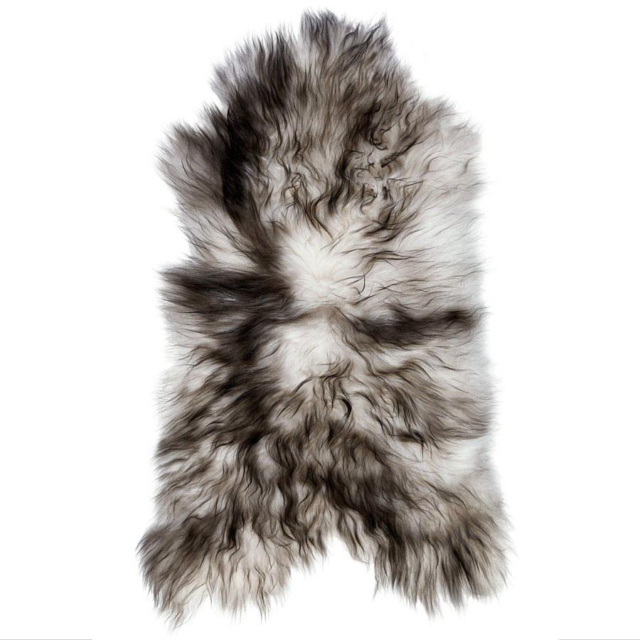 Icelandic Sheepskin - Black Tip