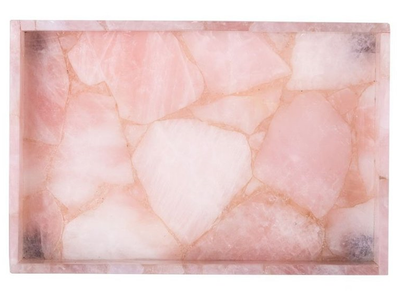 Rose Quartz Crystal Tray (2 Sizes)
