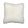 Australian Shearling Sheepskin Cushions in 3 sizes - Natural White