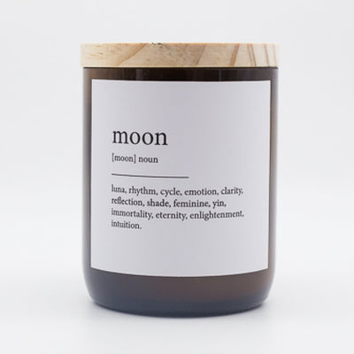 "Australian Made Hand Poured Soy Candle - ""Moon"" - Mango & Thai Lime"