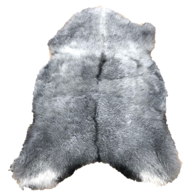 Icelandic Shorn Sheepskin - Natural Grey