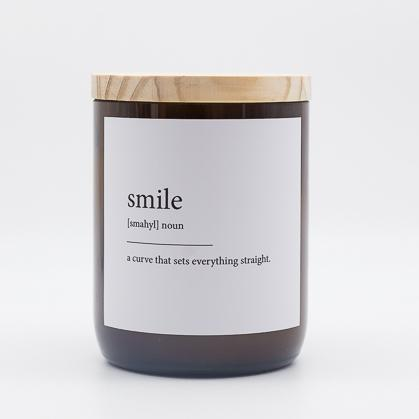 "Australian Made Hand Poured Soy Candle - ""Smile""- Cucumber/Ginger, Mint, Lemongrass, Persian Lime"