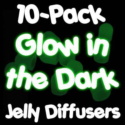 10-pack Jelly Diffusers Glow-in-the-Dark