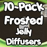 10-pack Jelly Diffusers Frosted