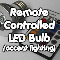 Remote Controlled 16 Color LED Bulb
