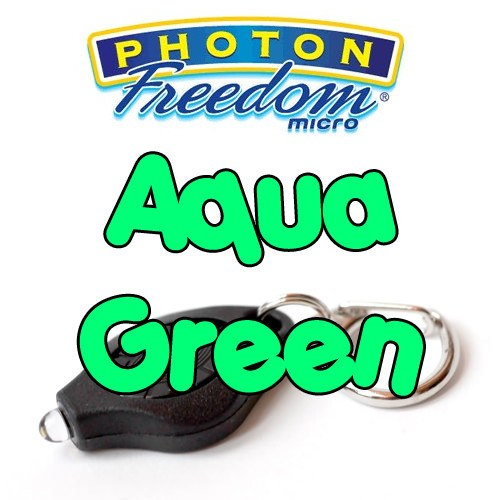 Aqua Green Photon Freedom