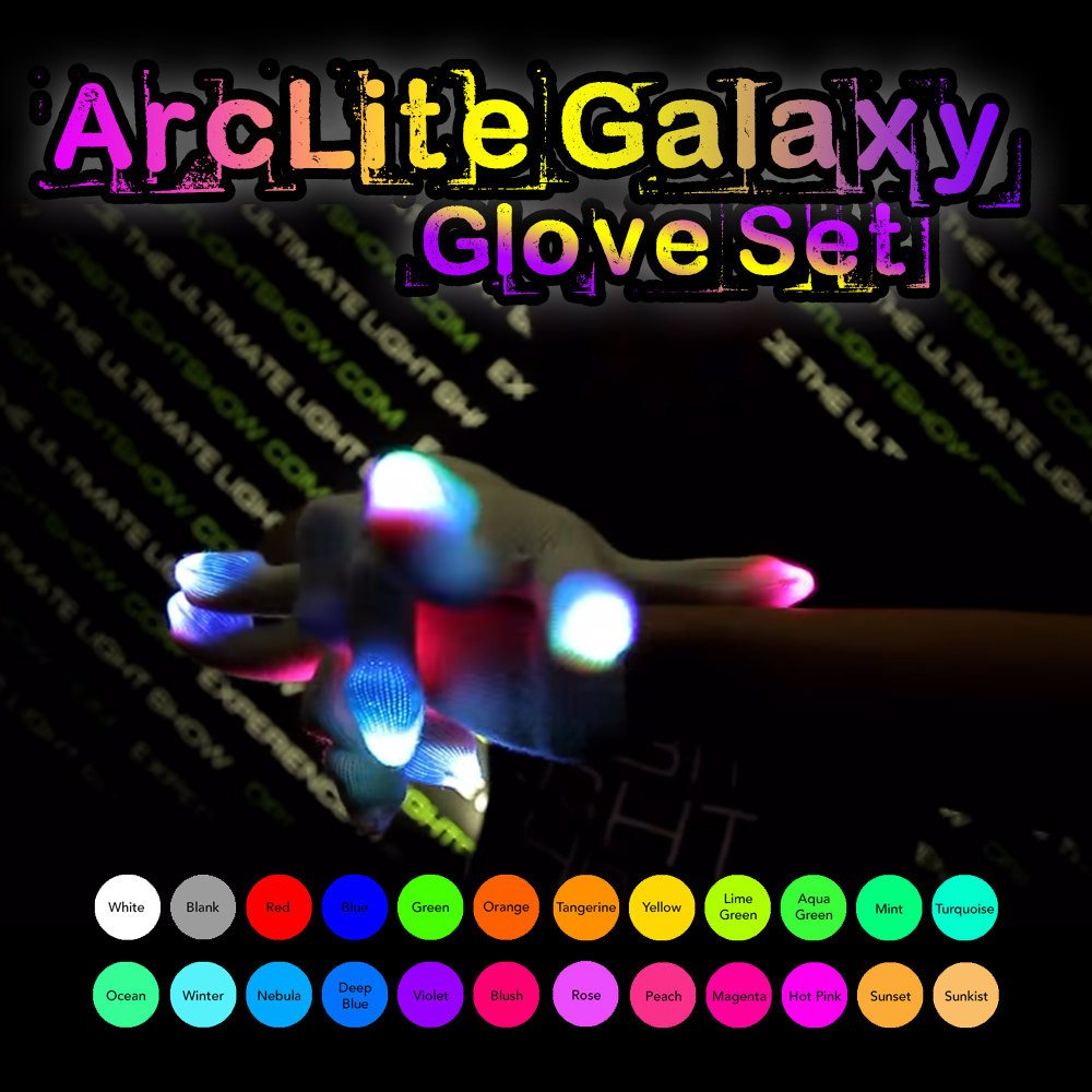 ArcLite Galaxy Glove Set