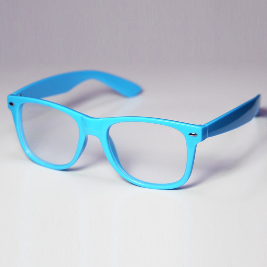 Diffraction Glasses - Baby Blue