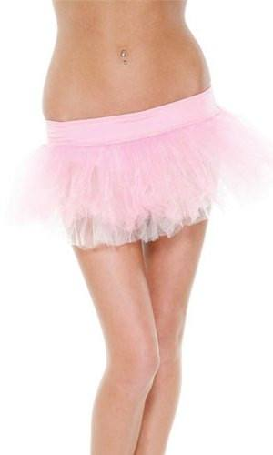 Pink and White Belle Tutu