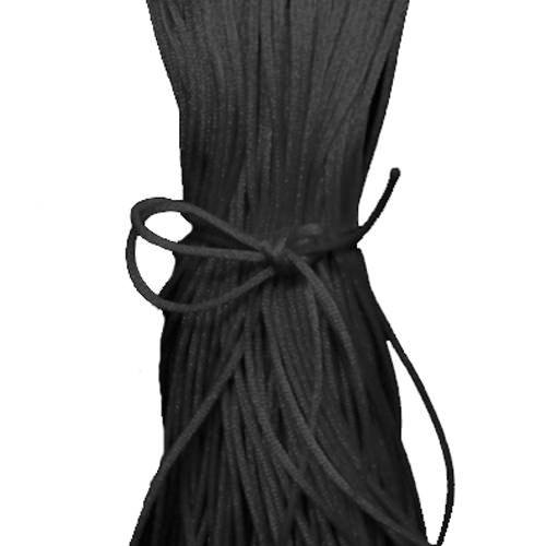 Black Satin Cord 1mm