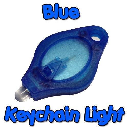 Blue Keychain Light