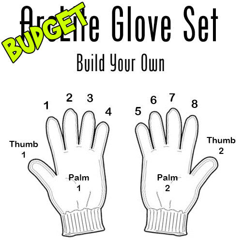 Budget ArcLite Custom Glove Set (10-Lights)