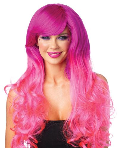 Cambria Two-Tone Long Wig