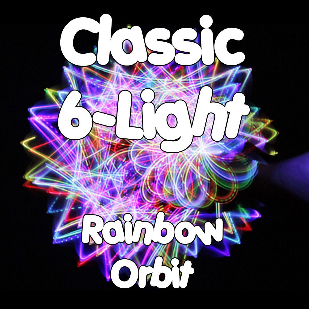 Classic 6-Light Rainbow Orbit