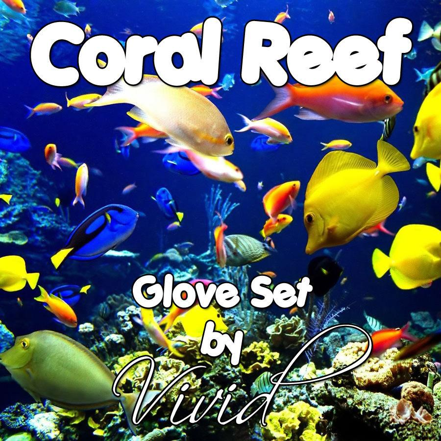 Coral Reef Glove Set