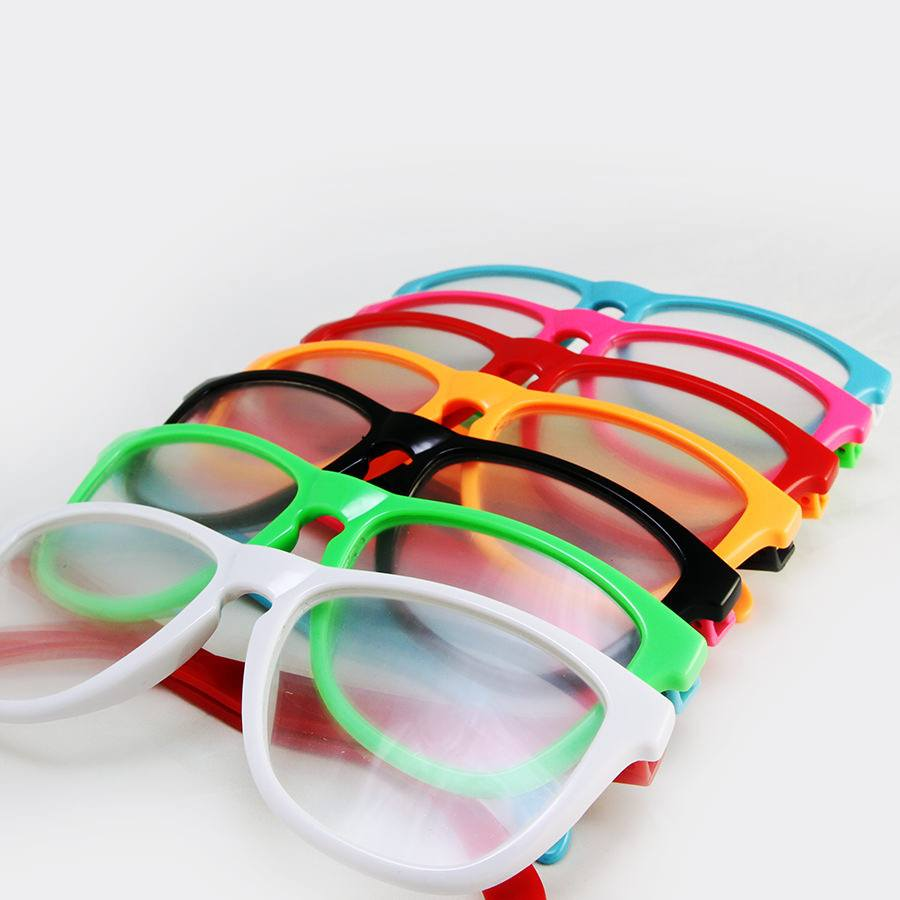 SnapShadez Customizable Nerd Glasses