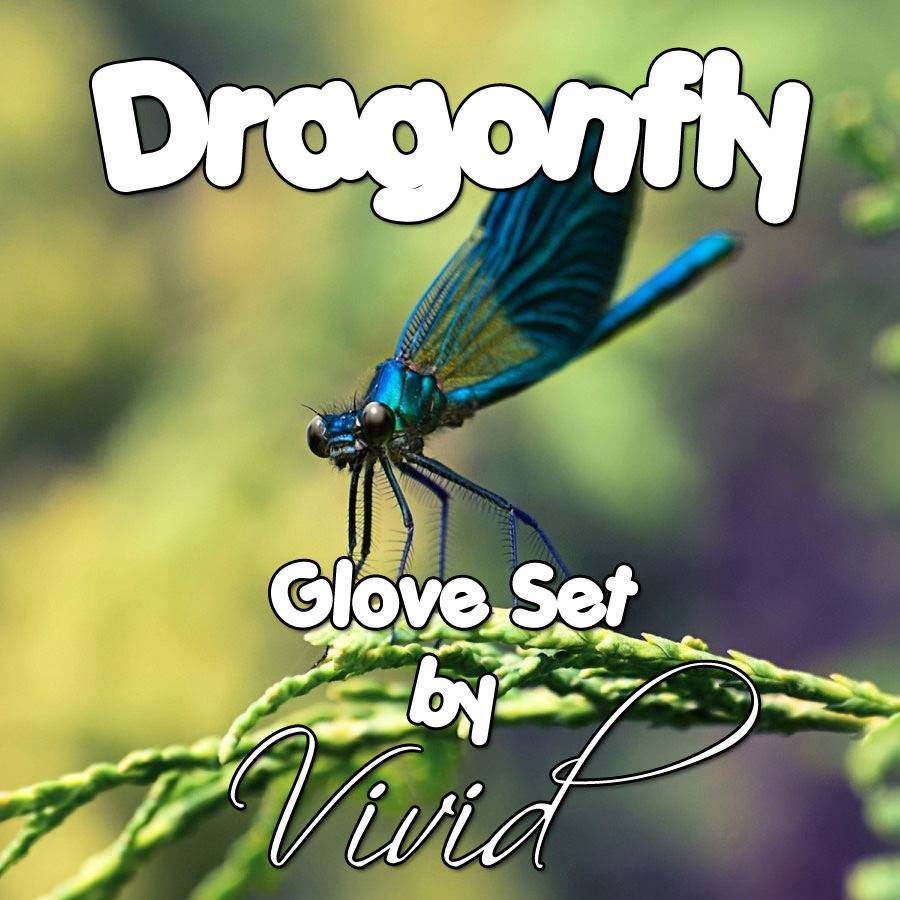 Dragonfly Glove Set