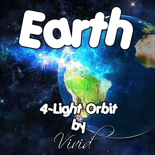 Earth 4-Light LED Orbit
