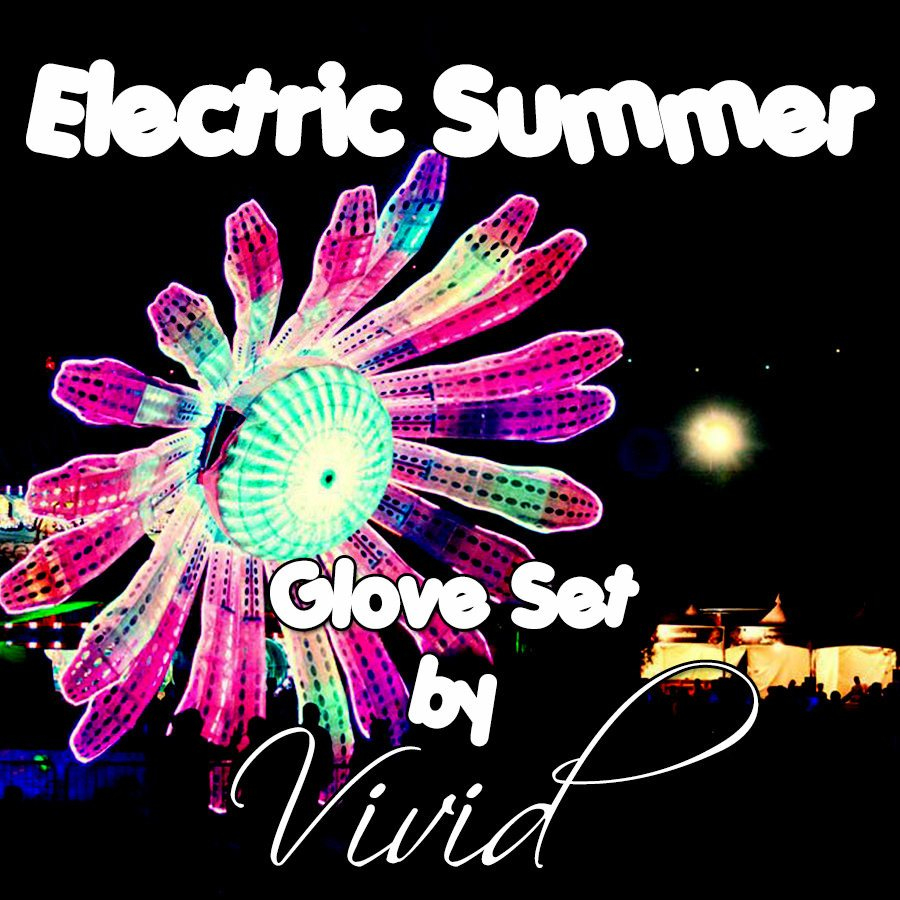 Electric Summer Glove Set