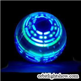 Flashing Gyro Ball / Levitating Ball