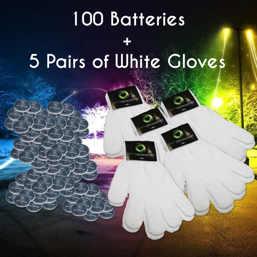 Batteries and Gloves Combo Deal