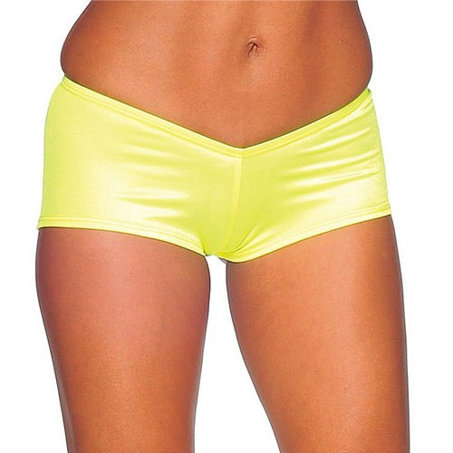 Go-Go Shorts - Neon Yellow