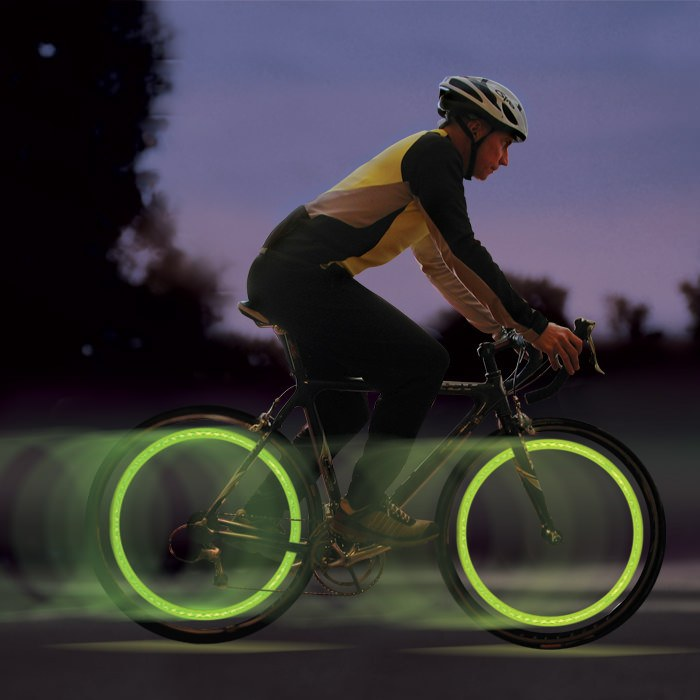 SpokeLit LED Spoke Wheel Light - Green