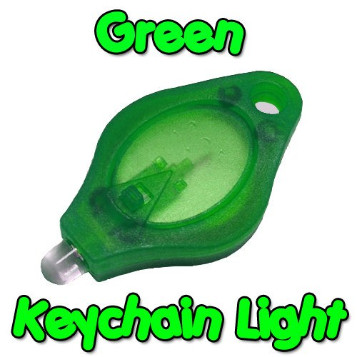 Green Keychain Light