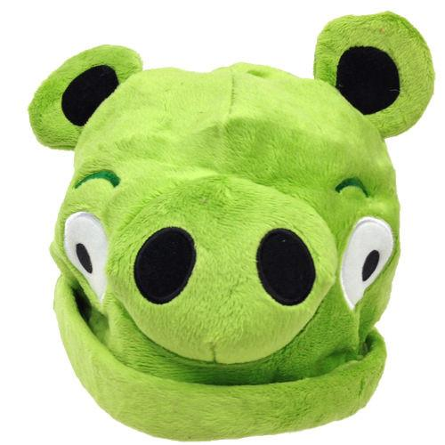 Green Pig Angry Bird Beanie