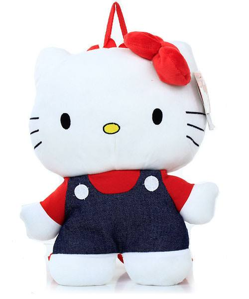 Hello Kitty Jean Backpack