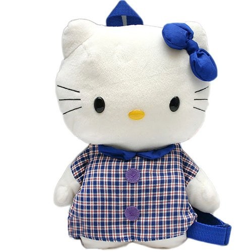 Hello Kitty Plaid Backpack