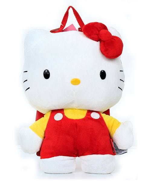 Hello Kitty Red and Yellow Backpack