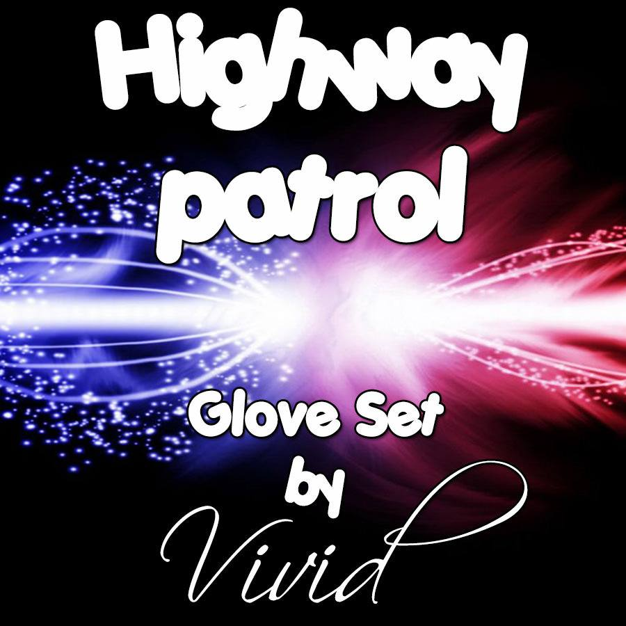 Highway Patrol Glove Set
