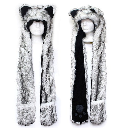 Husky Hat Pocket Scarf