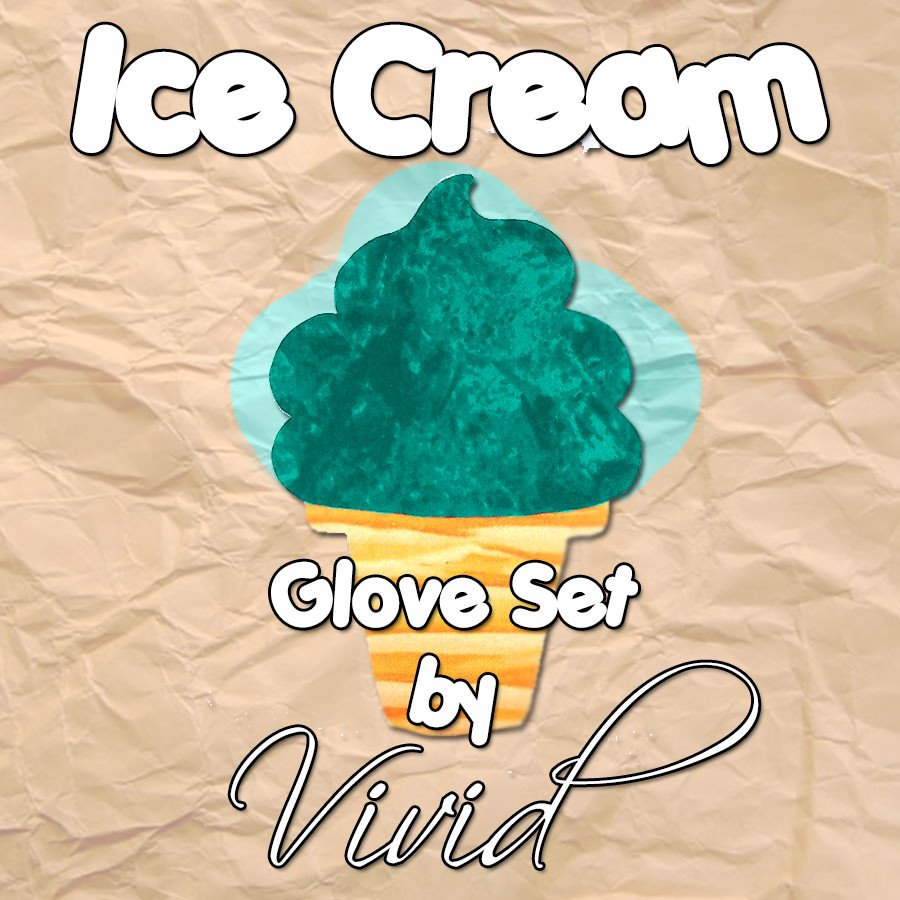 Ice Cream Glove Set