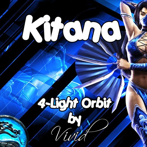 Kitana 4-Light LED Orbit