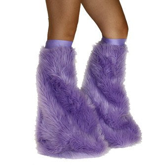 Lilac Soft Fur Fluffies