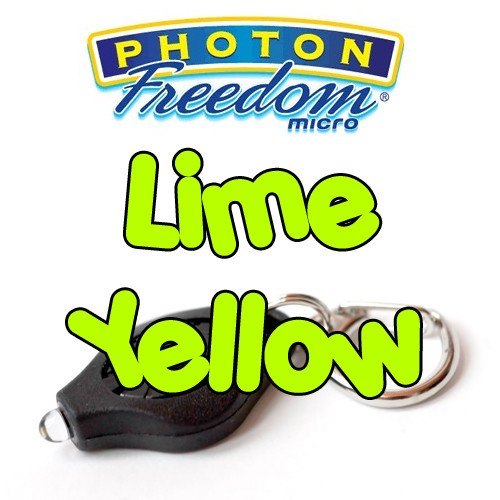 Lime Yellow Photon Freedom