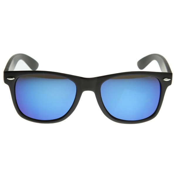 Matte Black Sunglasses - Ice