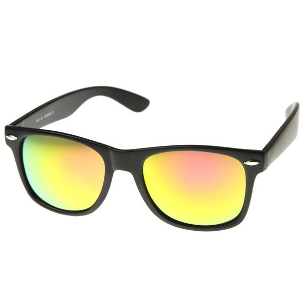 Matte Black Sunglasses - Sun